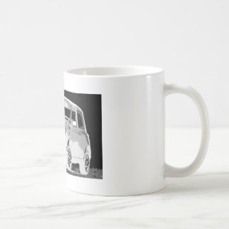 Negatives Mini Kaffeetasse