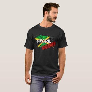 Negril der schwarze T - Shirt UNZENSIERTER Männer