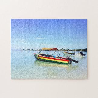 Negril Strandurlaubsort Jamaika Puzzle
