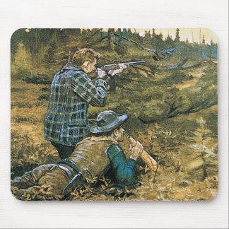 Nehmen der Schuss-Jäger Mauspad