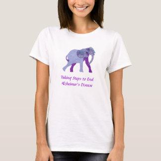 Nehmen des Schritt-T-Shirts T-Shirt