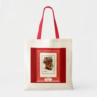 Nehmen des Weihnachtsbaum-Zuhause Tasche