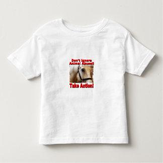 Nehmen Sie Aktions-Kleinkind-T-Stück Kleinkinder T-shirt
