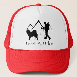 Nehmen Sie einem Wanderungc$hut-malamute Berge Truckerkappe