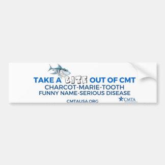 nehmen Sie einen Biss aus CMT heraus Autoaufkleber