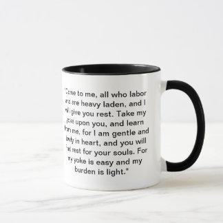 Nehmen Sie es einfach Tasse