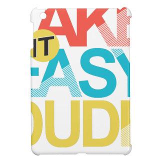 nehmen Sie ihm einfachen Typ iPad Mini Cover