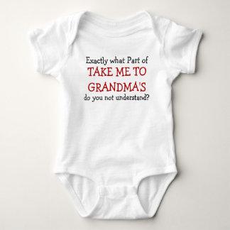 Nehmen Sie mich zu das Baby-Säuglings-dem Bodysuit Baby Strampler