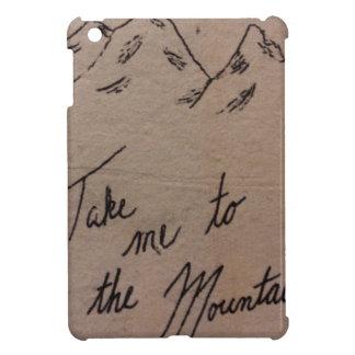 Nehmen Sie mich zu den Bergen iPad Mini Schale