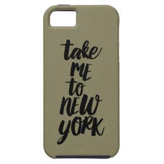 Nehmen Sie mich zu New York iPhone/zu iPad Fall Tough iPhone 5 Hülle