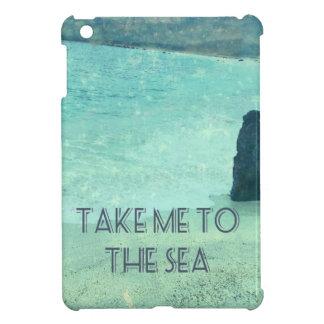Nehmen Sie mich zum Seezitat iPad Mini Hülle