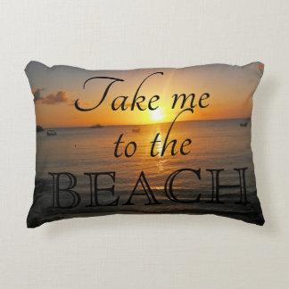 """Nehmen Sie mich zum Strand 12"""""""" Kissen x16"""