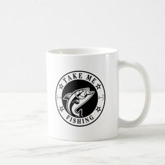Nehmen Sie mir Fischen Kaffeetasse