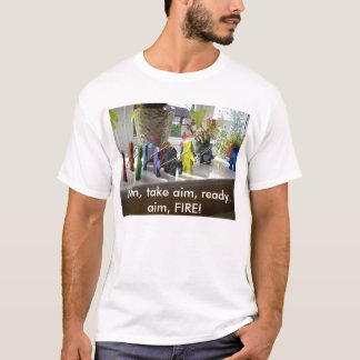 Nehmen Sie Ziel! T-Shirt