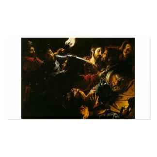 Nehmen von Christus mit der Malchus Episode C. Visitenkarten