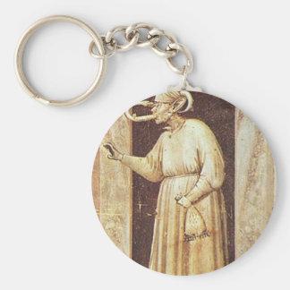 Neid durch Giotto Schlüsselanhänger