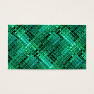 Aquamarine mosaik visitenkarten - Grune mosaikfliesen ...