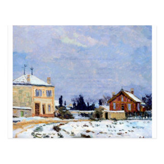 Neige durch Armand Guillaumin Postkarte