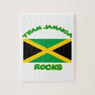 Neigen der jamaikanischen ENTWÜRFE Puzzle