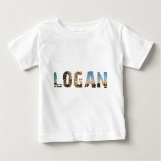 NEIGEN und coole Logan-Namenentwürfe Baby T-shirt
