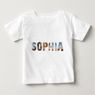 NEIGEN und coole Sophia Namenentwürfe Baby T-shirt