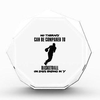Neigen von Basketballentwürfen Acryl Auszeichnung