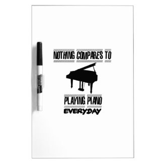 Neigen von Klavierspielerentwürfen Memoboard