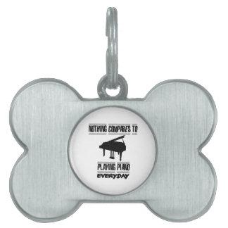 Neigen von Klavierspielerentwürfen Tiermarke