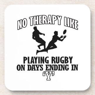 Neigen von Rugbyentwürfen Untersetzer