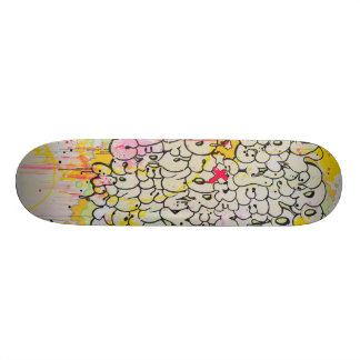 """Neigung""""wirkliche Graffiti-Liebe-"""" Teilii Bedrucktes Skateboard"""