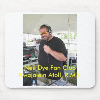 Neil-Färbungs-Fanclub Kwajalein Atoll, R…. Mousepad