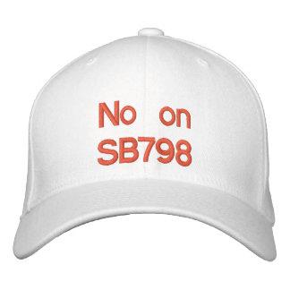 Nein auf SB798 Bestickte Baseballkappe