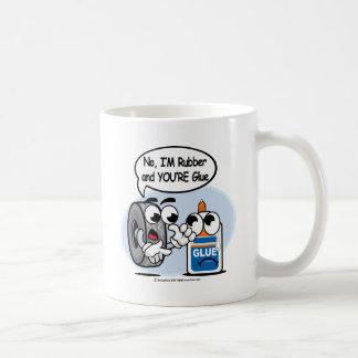 Nein, bin ich Ihr Kleber Gummi Kaffeetasse
