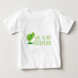 Nein, bin ich NICHT AUSTRALISCH (mit Kiwivogel und Baby T-shirt
