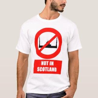 Nein für Islam in Schottland-T - Shirt
