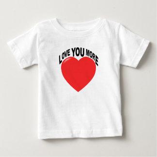 Nein, i-Liebe Sie mehr Tshirt.png Baby T-shirt