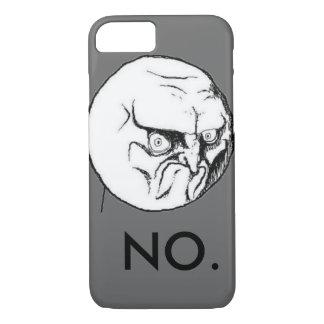 """NEIN"" meme graues lustiges iPhone 8/7 Hülle"