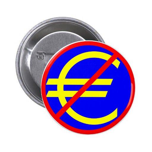 Nein zum Euro Button