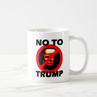 Nein zum Trumpf - Tasse