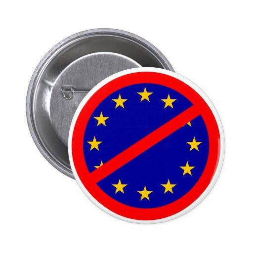 Nein zur EU Anstecknadelbutton