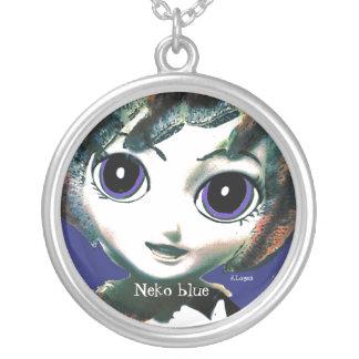 Neko Mädchen-Blau, die Halskette der Mädchen der F