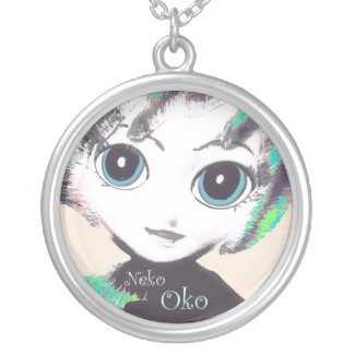 Neko Mädchen, Oko! Die hübsche Halskette der Mädch