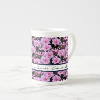Nektarinen-Blüten Porzellantasse