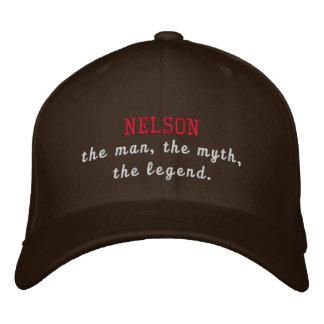 Nelson die Legende Bestickte Baseballkappe