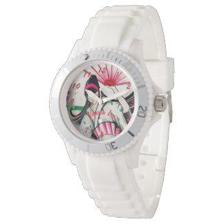 Nennen Sie Ihre japanische Geisha Uhr
