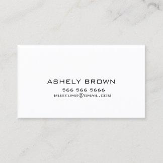 Nennende Visitenkarte Telefonnummerkarte