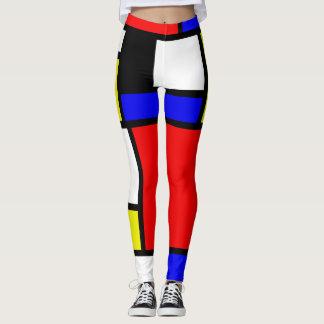 Neo-Plasticism bildhafte Kunst Athleisure Leggings