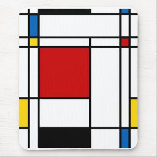 Neo-Plasticism Mondrian Art Mauspads