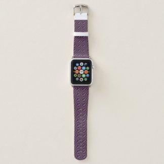 Neon färbt grelles verrücktes buntes apple watch armband