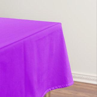 Neon lila tischdecke